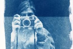 Cyanotype self Portrait