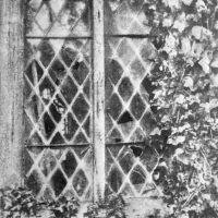 Bromoil Broken Window Montsalvat