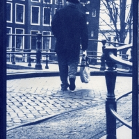 Cyanotype Going Home Netherlands