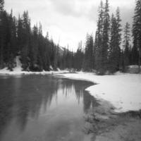 Pinhole Emerald Lake Canada