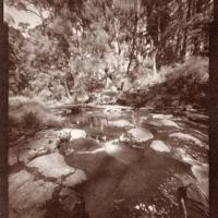 Vandyke pinhole Trentham Falls Vic