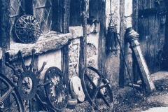 Cyanotype Old_Chandeliers