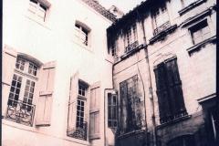Cyanotype over gum Les Voisins