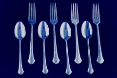 Cyanotype Forks and spoons
