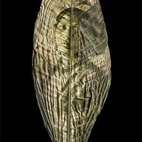 Chlorophyll-print-aforecuadorian-women-Mascarilla-Euador-Anthurium-leaf