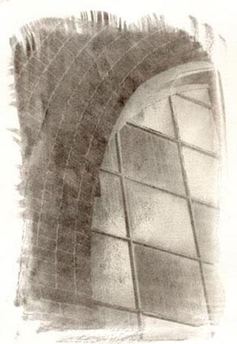 Black kallitype photograhic print