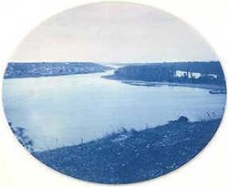 Historic cyanotype print