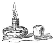 Glass Spirit Lamp, Bland & Long Photographic Apparatus and Chemical Preparations, 1856