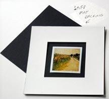 Framing polaroids