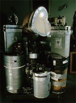 Walter Crumps pinhole cameras