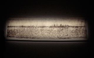 The world's largest pinhole photograph