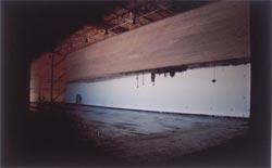 Inside the world's largest pinhole camera.