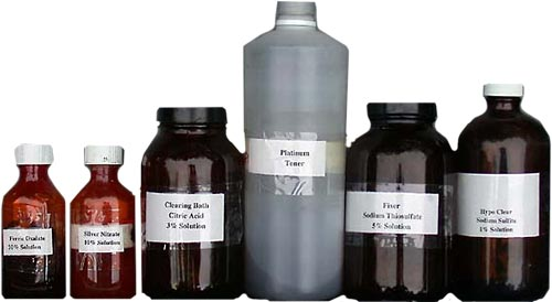 Chemicals for the kallitype process