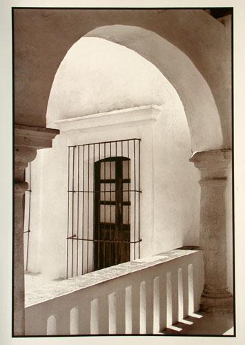 The Casa of Cortes. 12X17″ palladium toned Kallitype, digital negative from a 5×7 original. 2005. Oaxaca. Mexico.