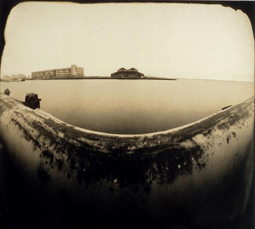Bay view pinhole by Walter Crump