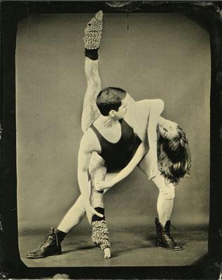 Joy Goldkind Bromoil Dancers