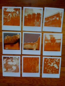 Samples of PX600 affected by hot weather