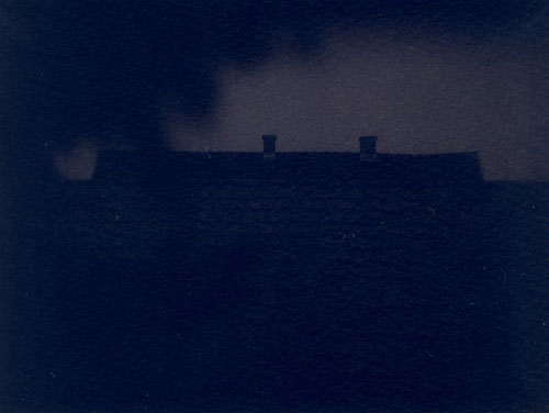 Cyanotype in the camera