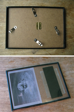 picture frame by the winthrop chronicles featrued on remodelaholic