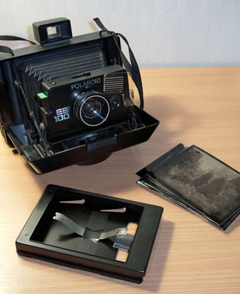 Wet plate collodion with a Polaroid camera « Cameras, Film ...