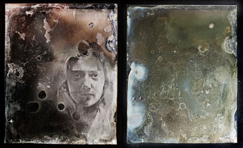 Wet plate colldion by Emma Bjorndahl
