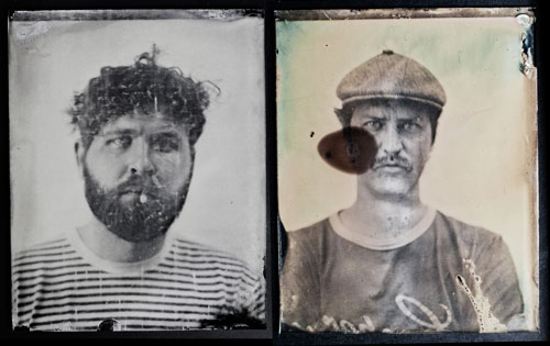 Ambrotypes by Emma Bjorndahl