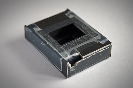 The 18x24mm film mask, giving up to 50 frames on a 36 roll.
