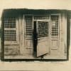 """""""The Open Door, Forbidden City, Beijing"""" by Brian Young. Toned cyanotype."""