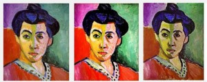 Will the real Madame Matisse please stand up? Color discrepancies are among a handful of shortcomings artists face when posting artwork on the web. Does it matter to you? What are the ramifications of your answer?