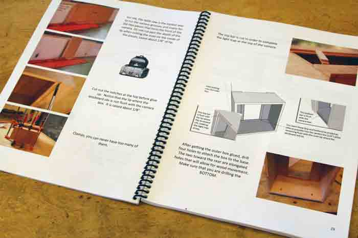 Making The Sliding Box Camera Books Alternativephotographycom