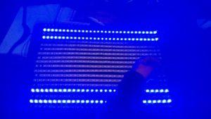 Testing the LED lights.