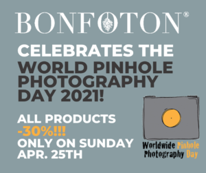 Worldwide Pinhole Photography Day offer from Bonfoton
