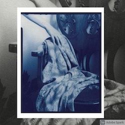 Cyanotype photograph by Alina Chirila