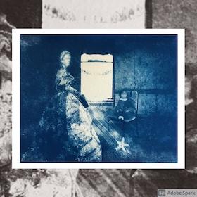 Karen Landey cyanotype
