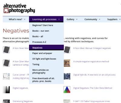 Easier to find negatives