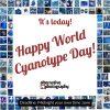 Happy world cyanotype day